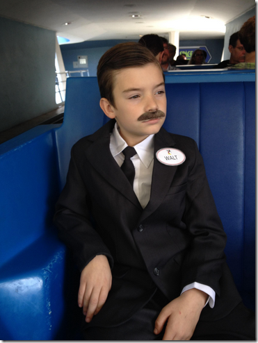 disfraz de Walt Disney