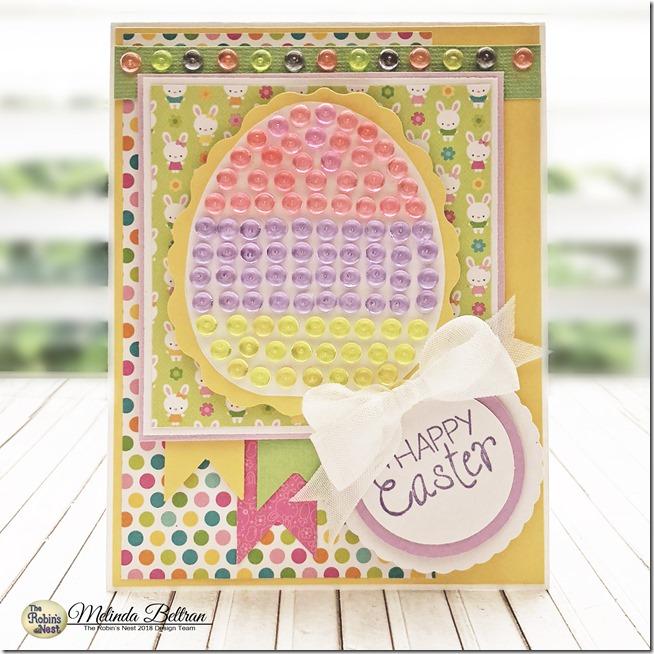 egg card standing