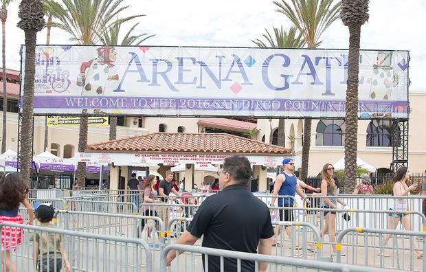 photo of the entrance of the San Diego County Fair