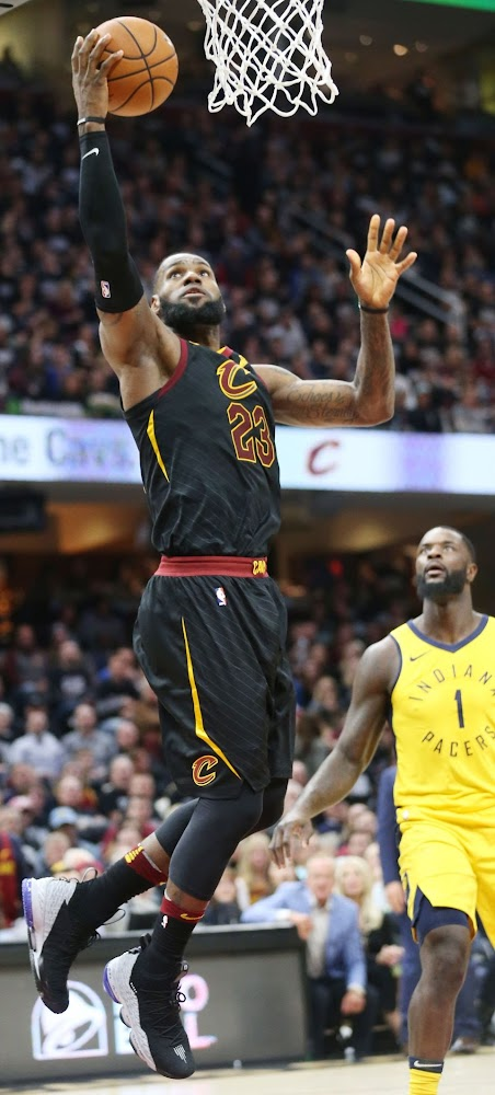... LeBron James Debuts Shox BB4 Inspired LeBron Watch 15s in Game 1 Loss e53e79f61