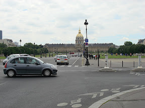 Les Invalides from Pont Alexandre III