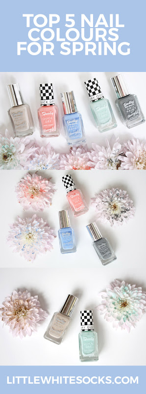 nail colours for spring