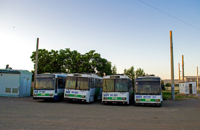 Троллейбус в Ургенче