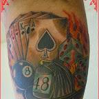 Gambling - Stuff Tattoo