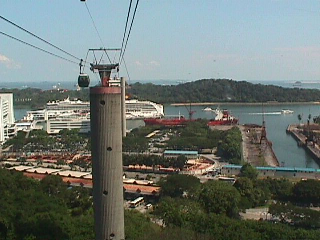 3010Cable Car to Sentosa Island