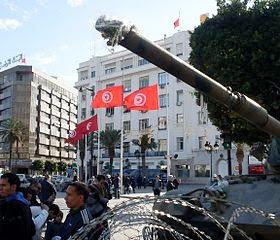 Une Révolution En Tunisie