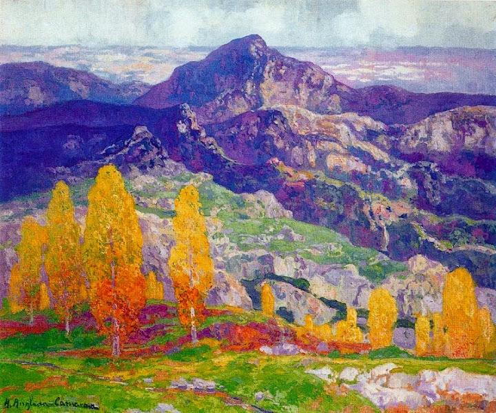 Hermen Anglada-Camarasa - Puigventós a la tardor aka Autumn