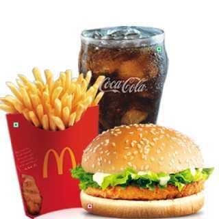 TimesPoints Loot - Get Free McDonald's McChicken/McVeggie Burger & Coke Coupon