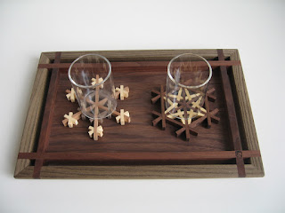 カフェトレー (S) 神代  tea tray mini (S) jindai
