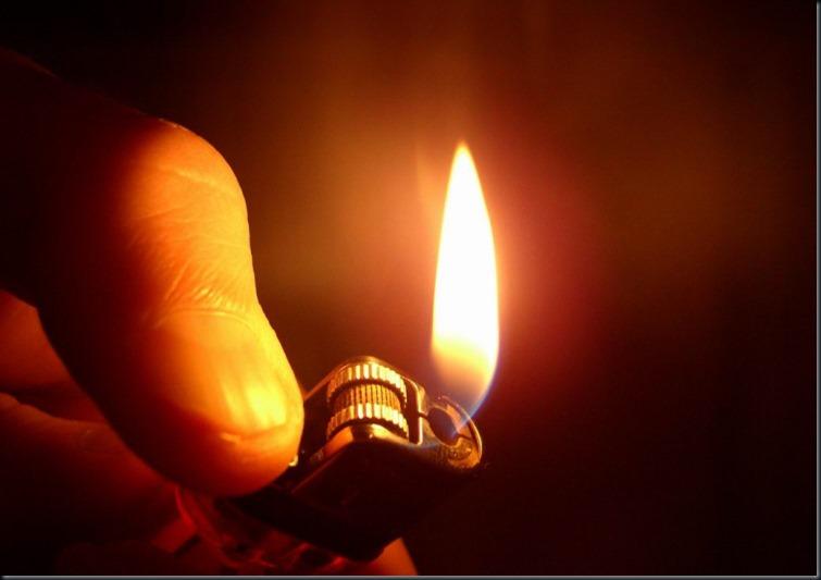 light a flame