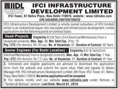 IIDL India Vacancy 2016 indgovtjobs