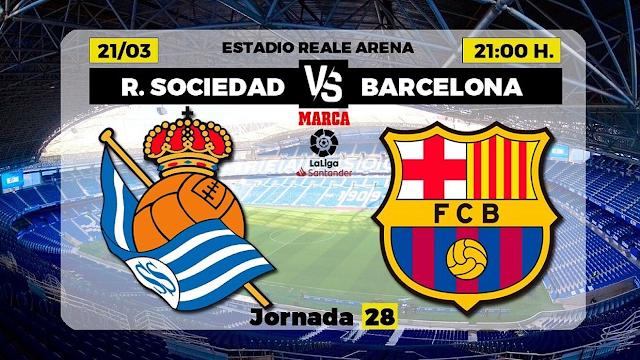 Watch Live Stream Match: Real Sociedad  vs  Barcelona