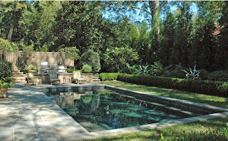 pool and hardscape