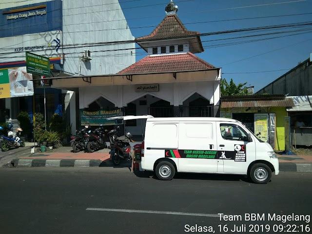 Kegiatan Bersih-bersih Karpet Mushola Al - Falah Jl. Mayjen Bambang Soegeng, Kedungdowo, Mertoyudan, Kecamatan Mertoyudan, kabupaten Magelang.