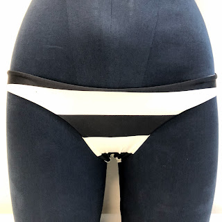 Lenny Niemeyer NEW Stripped Bottoms