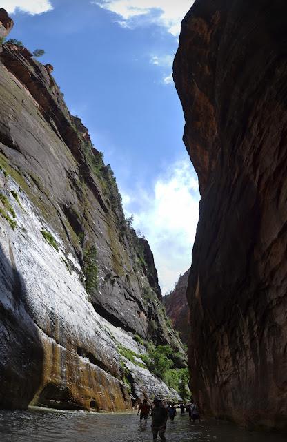 sun in the canyon again