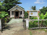 King of Glory Lutheran Church, located on the west bank of the Demerara River