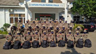 30 Satpol PP Kabupaten Karawang Jalani Diklat 10 Hari di Rindam III Siliwangi Bandung