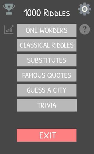 1000 Riddles 1.0 screenshots 1