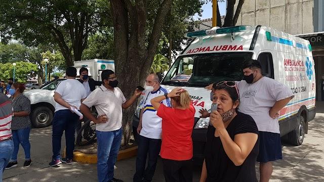 Saénz no pudo quitar las ambulancias a Orán
