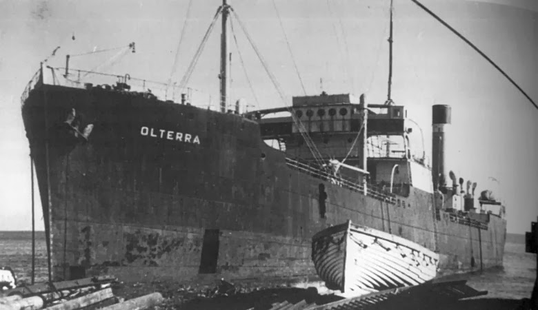 The Auxillary Ship Olterra