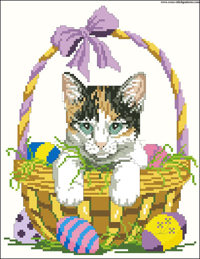 Easter Cat chart