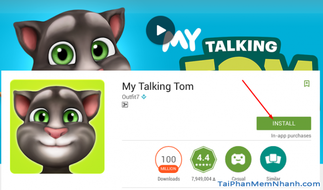 cài đặt my talking tom