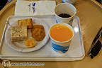 Free drinks and snacks from Bangkok Airways lounge
