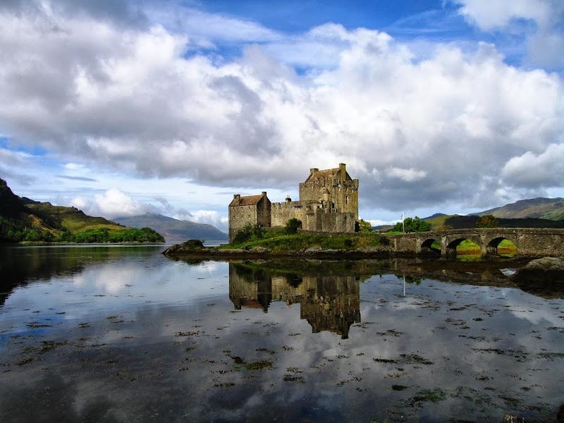 Paisaje de Escocia las Highland