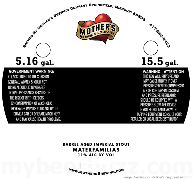 Mother's Brewing Company Announces Renaming of MILF Imperial Stout Materfamilias