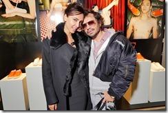 Patricia Gloria Contreras and Olivier Zahm