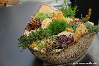 Photo: dieser kleine Steingarten ist nun auch bei uns zu finden..
