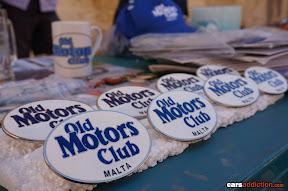 Old Motors Club Malta Badges