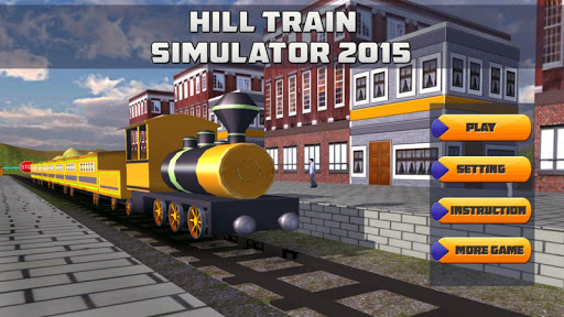 Hill Train Simulator 2015