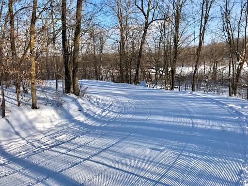 Bottom of Kamikaze hill on Skaters Waltz after grooming