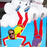 Skydiving on Texel Island at Paracentrum Texel in Texel, Noord Holland, Netherlands