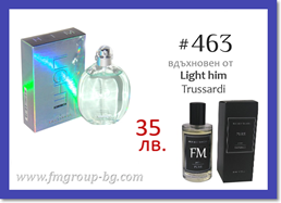 Парфюм FM 463 PURE - TRUSSARDI - Light him