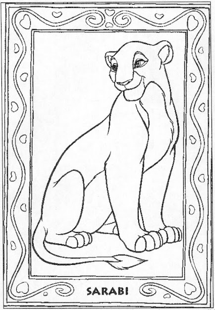 Download Coloring Pages Lion King Coloring Pages  Images About The Lion  King Coloring On