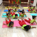 Celebration of International Yoga Day at Witty World by SR KG A