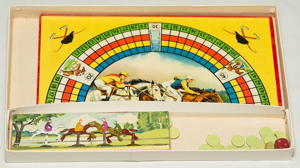 Spiel Pferderennen