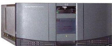 Biblioteca robótica de cintas, conexión a servidor, drivers
