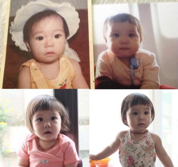 Anak Seleb Berikut Rupanya Kembaran Orangtua Kala Masih Kecil Fakta Artis : Bikin Pangling, 9 Anak Seleb Berikut Rupanya Kembaran Orangtua Kala Masih Kecil