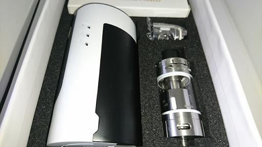 DSC 2231 thumb%25255B2%25255D - 【MOD+アトマ】「Sense Blazer 200キット」レビュー。最大200W対応BOX MODとセラミック搭載クリアロのスターターキット!【電子タバコ/爆煙】