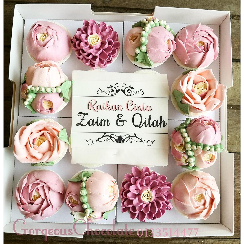 My gorgeous homemade chocolate korean flower cupcake box 16 korean flower cupcake box 16 izmirmasajfo