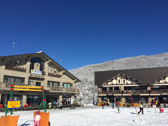 Nozawa onsen on Christmas day 2016