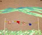 Summer-sun Clothesline by Brielle