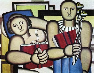 Fernand Léger - La lecture (1924)