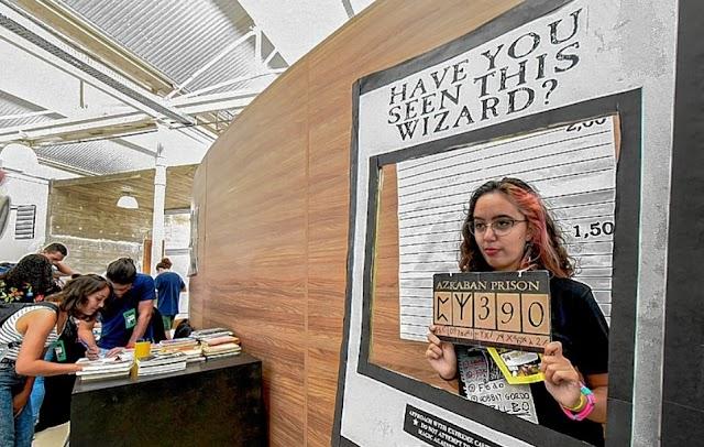 Biblioteca de Jundiaí faz evento de Harry Potter
