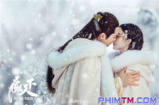 Ba Thanh (Phạm Băng Băng) gây tranh cãi vì nụ hôn với Tần Vương trong Thắng Thiên Hạ - Ảnh 1.