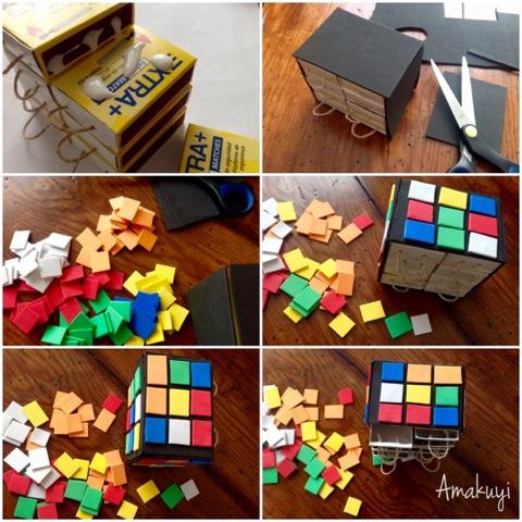 Empaquetado-caja-cerillas-cubo-rubik-manualidades-niños